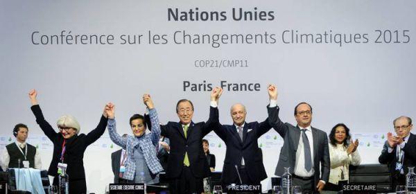 COP21 Acuerdo de Paris 2015, Se aprueba Acuerdo Histórico sobre el Cambio Climático en París - 12 de Diciembre